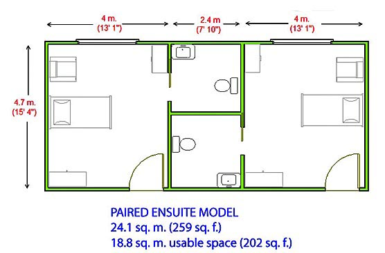 Paired-ensuite-model